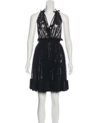 Adam Selman - 2016 Layered Dress Black - Lyst