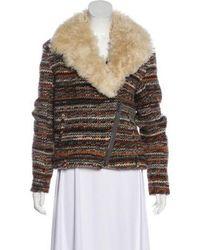 Thakoon Addition - Wool-blend Casual Jacket Orange - Lyst
