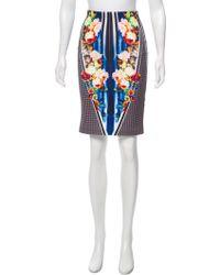 Clover Canyon - Digital Print Knee-length Skirt Multicolor - Lyst
