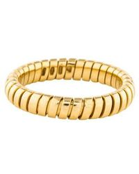 BVLGARI - 18k Tubogas Ring Yellow - Lyst