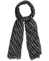 Thakoon - Printed Modal Scarf Black - Lyst