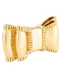 Kate Spade - Bow-tie Ring Gold - Lyst