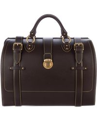 Marc Jacobs - Leather Doctor Satchel Brown - Lyst