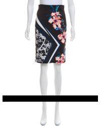 Clover Canyon - Printed Knee-length Skirt - Lyst
