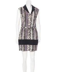 Viva Vena - Viva Vena By Cava Mini A-line Dress Multicolor - Lyst