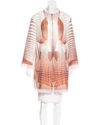 Clover Canyon - Printed Knee-length Coat - Lyst