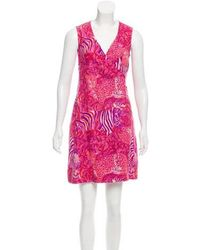 Sonia by Sonia Rykiel - Sonia By Rykiel Linen Printed Dress - Lyst