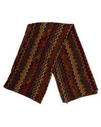 Missoni - Printed Rectangle Scarf Tan - Lyst