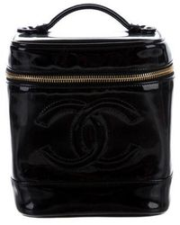 Chanel - Timeless Vanity Case Black - Lyst