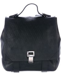 Proenza Schouler - Small Courier Backpack Black - Lyst