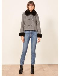 Reformation - Templeton Coat - Lyst
