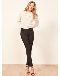 Reformation - Serena High Skinny Jean - Lyst