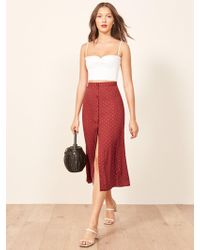 Reformation - Hermosa Skirt - Lyst