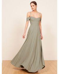 Reformation Poppy Dress Lyst