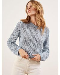 Reformation - Rose Sweater - Lyst