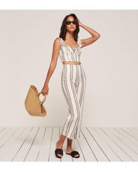 Reformation - Courtney Two Piece - Lyst