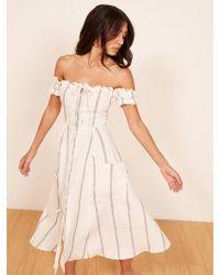 Reformation - Bogota Dress - Lyst