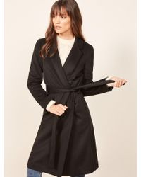 Reformation - Barton Coat - Lyst