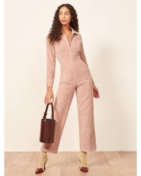 Reformation - Carolina Jumpsuit - Lyst