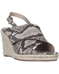 106b86234e98 Lyst - Via Spiga Platform Wedge Espadrille Sandals - Bloomingdale s ...