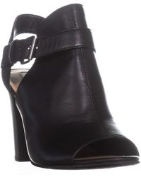 Tahari - Martin Dress Peep Toe Bootie Sandals - Lyst