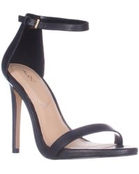 ALDO | Caraa Ankle Strap Heeled Dress Sandals | Lyst