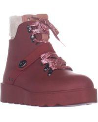 0da03a233d9e8 COACH - Urban Hiker Wedge Laceless Ankle Boots - Lyst