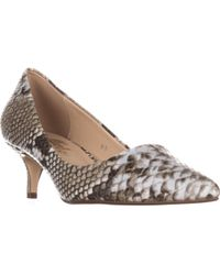 Callisto - Teagan Kitten Heel Classic Court Shoes - Lyst