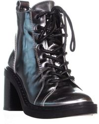 95b8e99079f Camper Roca Leather Ankle Boot in Black - Lyst