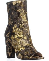 Jessica Simpson - Elara Peep Toe Fashion Boots - Lyst