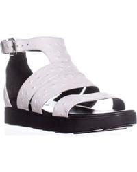 Via Spiga - Cora Gladiator Buckle Sandals - Lyst