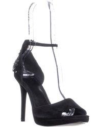be87c24a5a0c Michael Kors - Michael Patti Platform Ankle Strap Sandals - Lyst