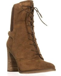 Michael Kors - Michael Carrigan Bootie Lace Up Mid-calf Boots - Lyst