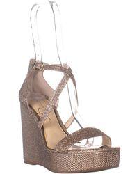 Jessica Simpson - Samira Strappy Wedge Sandals - Lyst
