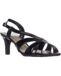 Easy Street - Desi Cross Strap Dress Sandals - Lyst