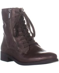 Lucky Brand - Hildran Zip Up Ankle Boots - Lyst