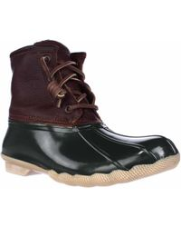 Sperry Top-Sider - Sperry Saltwater Short Rain Boots - Lyst