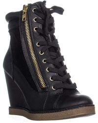 Report - Fife Wedge Ankle Boots - Lyst