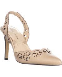 Adrienne Vittadini - Nika Perforated Pointed Toe Heels - Lyst
