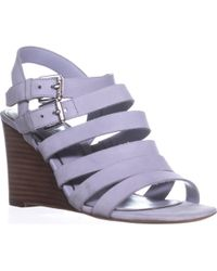 Lauren by Ralph Lauren - Lauren Ralph Lauren Aleigh Strappy Wedge Sandals - Lyst