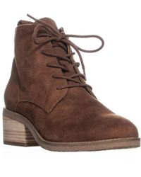 Lucky Brand - Tamela Lace-up Ankle Boots - Lyst