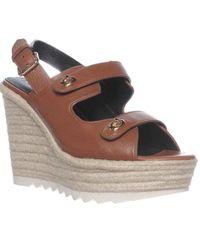 COACH - Electra Slingback Espadrille Sandals - Lyst