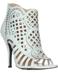 Mojo Moxy - Dolce By Kojo Caged Booties - Lyst