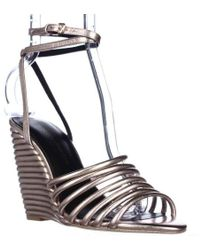 Rebecca Minkoff - Savannah Strappy Ankle Wedge Sandals - Lyst