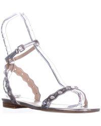 ALDO - Amelie Flat Ankle-strap Sandals - Lyst