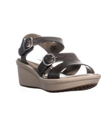 Easy Spirit - Charisma Ankle Strap Comfort Wedge Sandals - Lyst