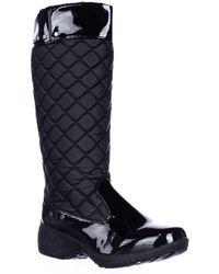 Khombu - Merritt Quilted Soft Lined Winter Rain Boots - Lyst