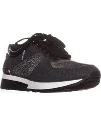 e0ecbb383e3 Michael Kors Michael Mk Trainer Sneakers in White - Lyst