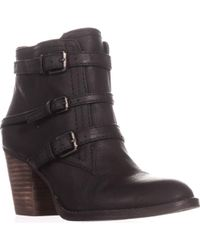 Nine West | Fitz Triple Strap Ankle Boots | Lyst