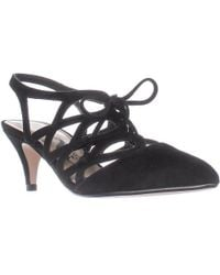 Nina - Francie Lace-up Low-heel Court Shoes - Lyst